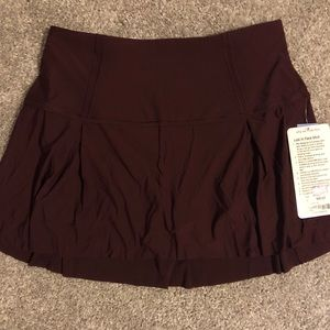 "Lululemon ""Lost in Pace"" skort"